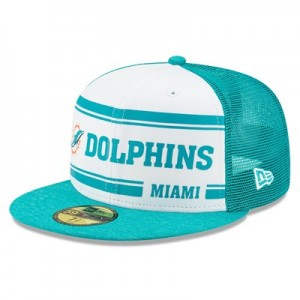 Miami Dolphins New Era 2019 Official Home Sideline 1966-76 59FIFTY Fitted Cap