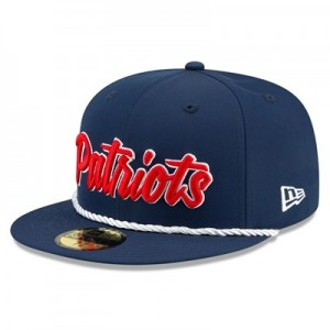 New England Patriots New Era 2019 Official Home Sideline 1960-61 59FIFTY Fitted Cap