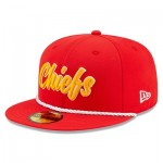 Kansas City Chiefs New Era 2019 Official Home Sideline 1960-61 59FIFTY Fitted Cap