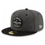 Pittsburgh Steelers New Era 2019 Official Home Sideline 1933-53 59FIFTY Fitted Cap
