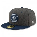 Los Angeles Rams New Era 2019 Official Home Sideline 1933-53 59FIFTY Fitted Cap