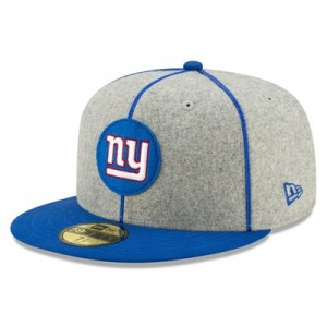 New York Giants New Era 2019 Official Home Sideline 1920-25 59FIFTY Fitted Cap