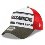 Tampa Bay Buccaneers New Era 2019 Official Home Sideline 1966-76 39THIRTY Stretch Fit Cap