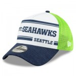 Seattle Seahawks New Era 2019 Official Home Sideline 1966-76 39THIRTY Stretch Fit Cap