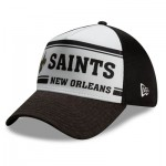 New Orleans Saints New Era 2019 Official Home Sideline 1966-76 39THIRTY Stretch Fit Cap