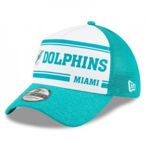 Miami Dolphins New Era 2019 Official Home Sideline 1966-76 39THIRTY Stretch Fit Cap