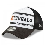 Cincinnati Bengals New Era 2019 Official Home Sideline 1966-76 39THIRTY Stretch Fit Cap