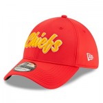 Kansas City Chiefs New Era 2019 Official Home Sideline 1960-61 39THIRTY Stretch Fit Cap