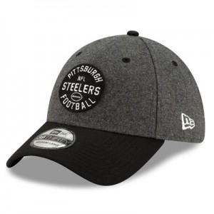 Pittsburgh Steelers New Era 2019 Official Home Sideline 1933-53 39THIRTY Stretch Fit Cap