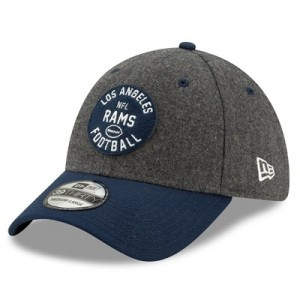 Los Angeles Rams New Era 2019 Official Home Sideline 1933-53 39THIRTY Stretch Fit Cap
