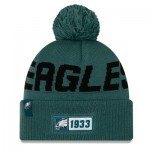 Philadelphia Eagles New Era 2019 Official Cold Weather Road Knit