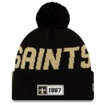 New Orleans Saints New Era 2019 Official Cold Weather Road Knit