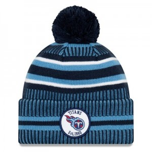 Tennessee Titans New Era 2019 Official Cold Weather Home Knit