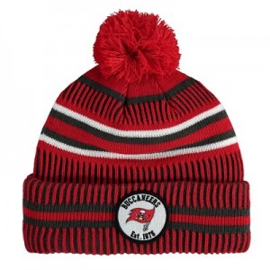 Tampa Bay Buccaneers New Era 2019 Official Cold Weather Home Knit