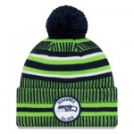 Seattle Seahawks New Era 2019 Official Cold Weather Home Knit
