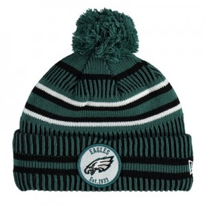 Philadelphia Eagles New Era 2019 Official Cold Weather Home Knit