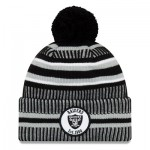 Oakland Raiders New Era 2019 Official Cold Weather Home Knit