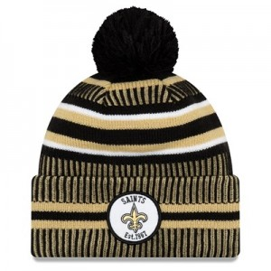 New Orleans Saints New Era 2019 Official Cold Weather Home Knit