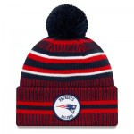 New England Patriots New Era 2019 Official Cold Weather Home Knit