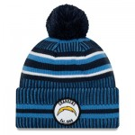 Los Angeles Chargers New Era 2019 Official Cold Weather Home Knit