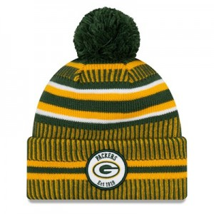 Green Bay Packers New Era 2019 Official Cold Weather Home Knit