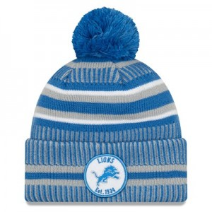 Detroit Lions New Era 2019 Official Cold Weather Home Knit