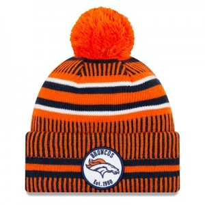 Denver Broncos New Era 2019 Official Cold Weather Home Knit