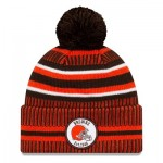 Cleveland Browns New Era 2019 Official Cold Weather Home Knit