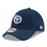 Tennessee Titans New Era 2019 Official Road Sideline 39THIRTY Stretch Fit Cap