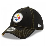 Pittsburgh Steelers New Era 2019 Official Road Sideline 39THIRTY Stretch Fit Cap