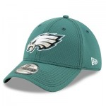 Philadelphia Eagles New Era 2019 Official Road Sideline 39THIRTY Stretch Fit Cap