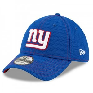 New York Giants New Era 2019 Official Road Sideline 39THIRTY Stretch Fit Cap