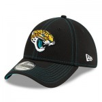 Jacksonville Jaguars New Era 2019 Official Road Sideline 39THIRTY Stretch Fit Cap