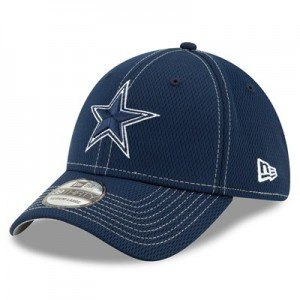 Dallas Cowboys New Era 2019 Official Road Sideline 39THIRTY Stretch Fit Cap