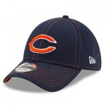 Chicago Bears New Era 2019 Official Road Sideline 39THIRTY Stretch Fit Cap