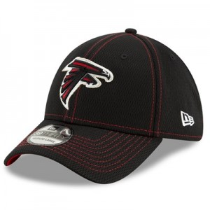 Atlanta Falcons New Era 2019 Official Road Sideline 39THIRTY Stretch Fit Cap