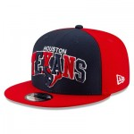 Houston Texans New Era 2019 Official Home Sideline 1995-02 9FIFTY Snapback Cap