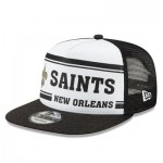 New Orleans Saints New Era 2019 Official Home Sideline 1966-76 9FIFTY Snapback Cap
