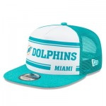 Miami Dolphins New Era 2019 Official Home Sideline 1966-76 9FIFTY Snapback Cap