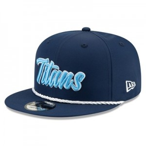 Tennessee Titans New Era 2019 Official Home Sideline 1960-61 9FIFTY Snapback Cap