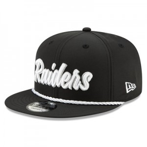 Oakland Raiders New Era 2019 Official Home Sideline 1960-61 9FIFTY Snapback Cap