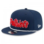 New England Patriots New Era 2019 Official Home Sideline 1960-61 9FIFTY Snapback Cap