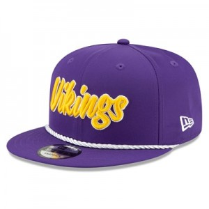 Minnesota Vikings New Era 2019 Official Home Sideline 1960-61 9FIFTY Snapback Cap