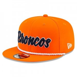 Denver Broncos New Era 2019 Official Home Sideline 1960-61 9FIFTY Snapback Cap