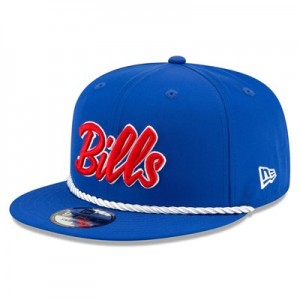 Buffalo Bills New Era 2019 Official Home Sideline 1960-61 9FIFTY Snapback Cap