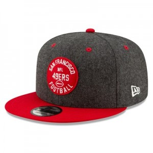 San Francisco 49ers New Era 2019 Official Home Sideline 1933-53 9FIFTY Snapback Cap