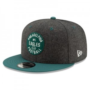 Philadelphia Eagles New Era 2019 Official Home Sideline 1933-53 9FIFTY Snapback Cap