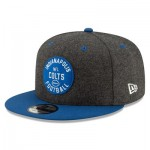Indianapolis Colts New Era 2019 Official Home Sideline 1933-53 9FIFTY Snapback Cap