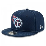 Tennessee Titans New Era 2019 Official Road Sideline 9FIFTY Snapback Cap