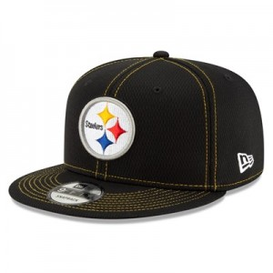 Pittsburgh Steelers New Era 2019 Official Road Sideline 9FIFTY Snapback Cap